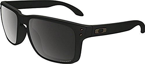 Oakley Holbrook Sunglasses Matte Black / Prizm Black Polarized & Cleaning - Matte Polarized Black Oakley Prizm Black Holbrook