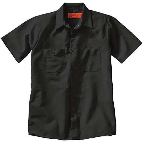 Red Kap Men's Industrial Work Shirt, Regular Fit, Short Sleeve