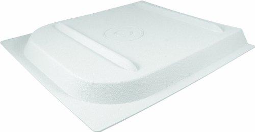Valterra A77018 'P Series' Nu Tru White Boxed Screen Door - Series Handle Door Screen