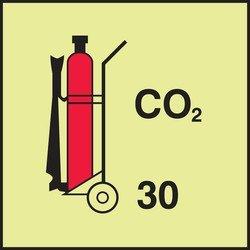 WHEELED FIRE EXTINGUISHER - CO2 (Fire Wheeled Extinguisher)