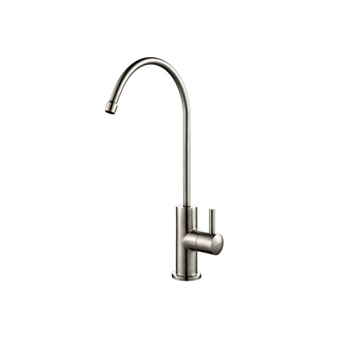 stainless steel water filter faucet. Zuhne Ren Lead Free Food Grade Stainless Steel RO Compatible Single Lever Water  Filter or Filtration Faucet