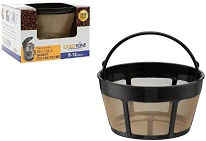 Goldtone Reusable 8-12 Cup Basket Coffee Filter Fits Hamilton Beach Coffee Makers und Brewers. Replaces Ihre Hamilton Beach Reusable Coffee Filter - Bpa Free