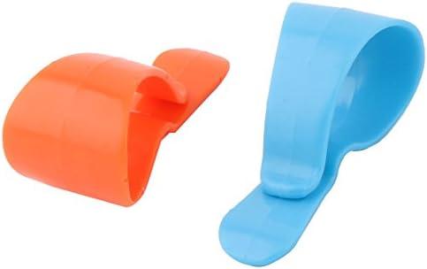 uxcell Plastic Car Vehicle Sunglasses Eyeglasses Business Card Pen Ticket Holder Clip 2pcs