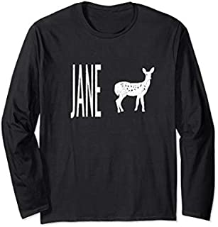 Pink Jane Doe  Life is Strange  Cosplay Long Sleeve T-shirt | Size S - 5XL