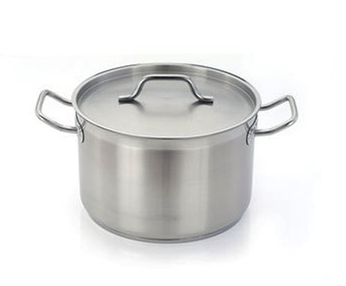 Homichef 15.9 Quart Stainless Sauce Pot with Handles