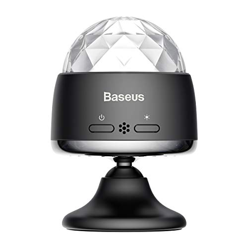 Portable Sound Activated Mini Disco Ball,Party Lights for Bedroom Car Strobe Lights Dj Lights Disco Light Bulb,Led Stage Light,Festival Party Light,Car Decoration Disco -