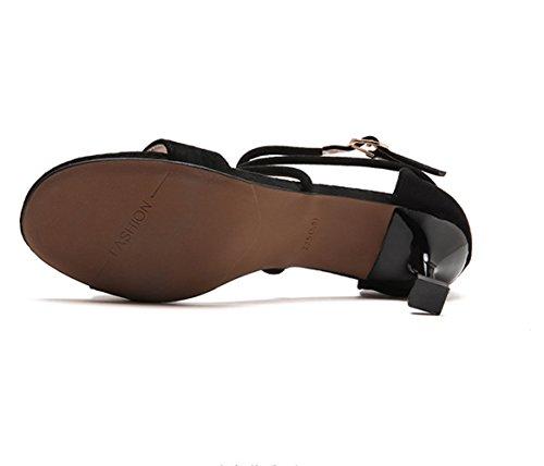 el gato CXSM y y sexy tie fino rocío elegante shoes con black ranuras AqA6wZRnU