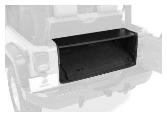 Bestop 42636-01 Instatrunk Storage Box for 07-10 Wrangler JK including Unlimited without factory subwoofer by Bestop