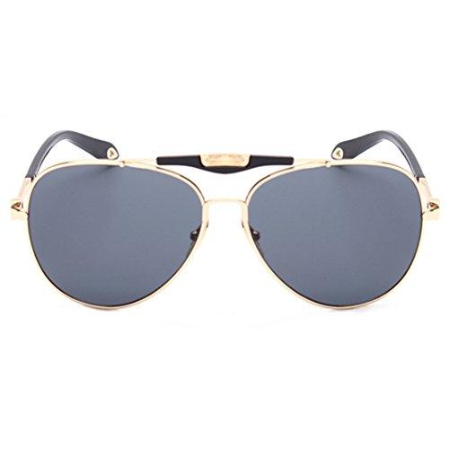 CUSHAPE ASG800046C4 New Style PC Lens Metal Sunglasses,Metal Frames - Aviator Sunglasses Style Sunglasses Dvb