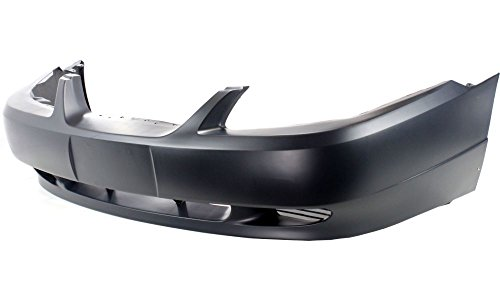 New Evan-Fischer EVA17872024268 Front BUMPER COVER Primed Direct Fit OE REPLACEMENT for 1999-2004 Ford Mustang *Replaces Partslink FO1000437