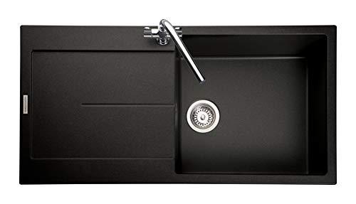 Rangemaster SCO1051AS/ SCORIA IGNEOUS 1000500 1.0 BOWL ASH Kitchen Sink