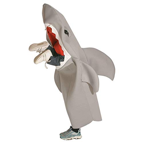 Rasta Imposta Lil' Man-Eating Shark Children's Costume, 7-10, Gray ()