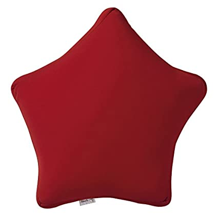 Moycor 803400 Cojín Estrella Nylon Rojo 35x35x15 cm