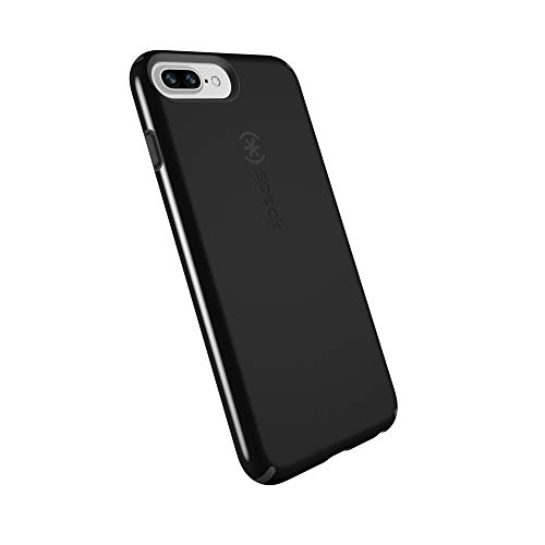 Speck Products CandyShell Cell Phone Case for iPhone 8 Plus/7 Plus/6S Plus - Black/Slate Grey