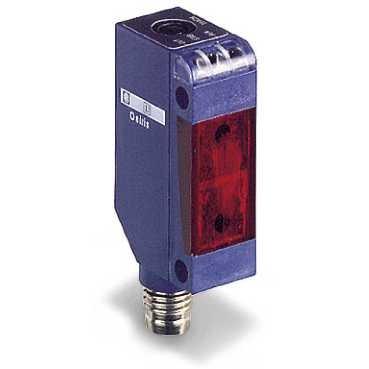Telemecanique Sensors XUM0AKSAM8T XUM Photo Electric Sensor, Plastic, Miniature Design, Transmitter, Thru Beam, 14 m Sensing Distance, M8 Connector, 12 VDC-24 VDC Schneider Electric SE