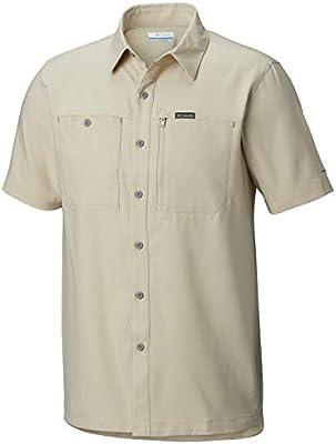 Moisture Wicking Fabric Columbia Mens Pilsner Peak III Short Sleeve Shirt UPV Protection
