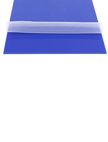 Uxcell a15041500ux0382 3 mm Thick Blue Plastic Acrylic Plexiglas Sheet, A4 Size, 210 mm x 297 mm by uxcell (Image #1)