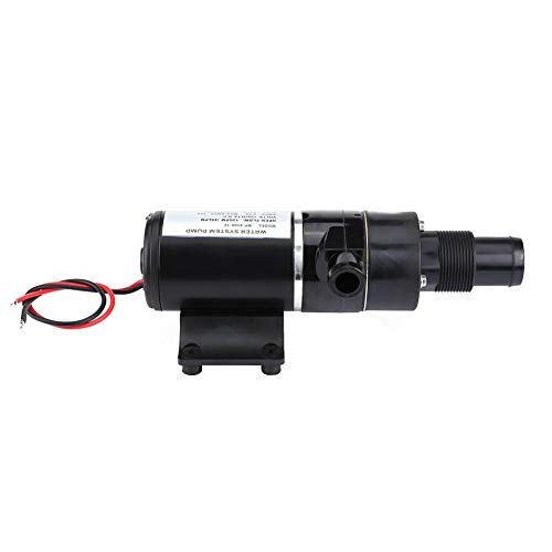12V DC Macerator Sanitation Water Pump, Self Priming Macerator Waste Evacuation for Marine Yacht Boat