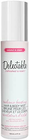 Delectable by Cake Beauty Radiance Boosting Coconut & Cream Hair/Body Mist