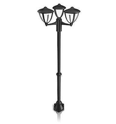 Philips Luminaire Extrieur Led Lampadaire Robin Noir AmazonFr
