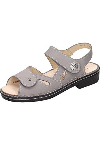 605421 163 Grey Sandal Grey Women's Nubuck Finn Costa Mouse 2380 in Comfort PxtvOt
