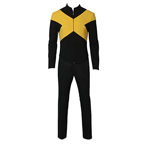 CosplayDiy Men's Suit for X-Men Dark Phoenix Cyclops Cospaly Costume S ()