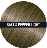Hair Building Fibers 200 Grams 7 Oz. With Bottle By Finally Hair 50g4 (Light Salt and Pepper (light brown & grey special formula)) by Finally Hair (Image #2)