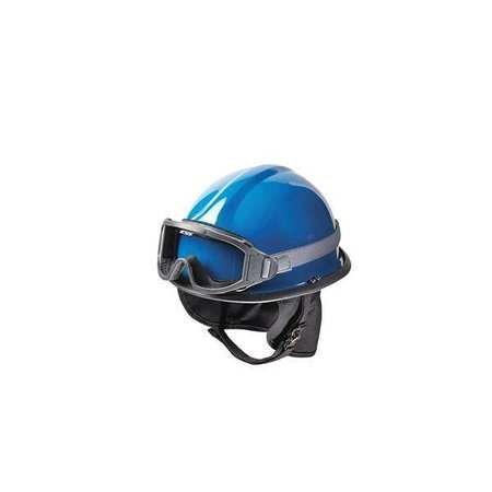 Fire and Rescue Helmet, Blue, Modern by BULLARD (Image #1)