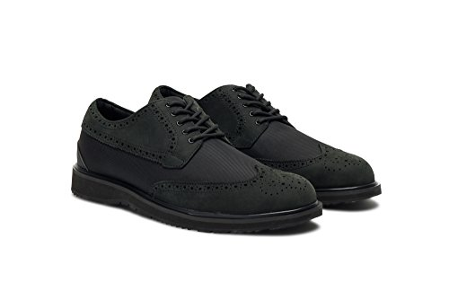Nuota Barry Brogue Low Mocassino In Nero