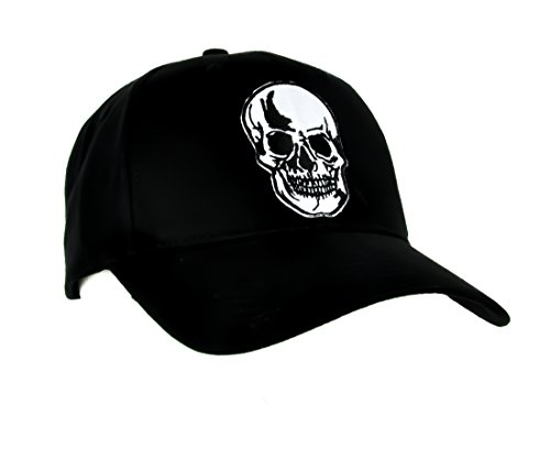 Death Skull Reaper Hat Baseball Cap Alternative Clothing Sons of Anarchy ()