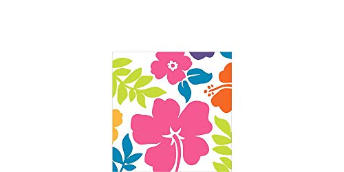 AmscanHibiscus Party Beverage Napkins, 5