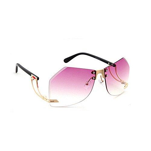 Verano la sin Irregulares Pierna Las Personalidad Conducir Mujeres Lentes Playa de de C5 Color Vacaciones Sol Gu para UV Peggy Protección C8 Especial de de 1XcOq