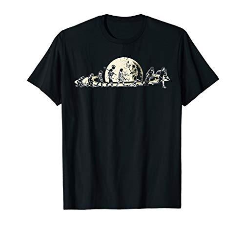 Triathlon Gifts Saturn Sport Evolution Triathlete T-Shirt (Triathlon Badeanzug Damen)