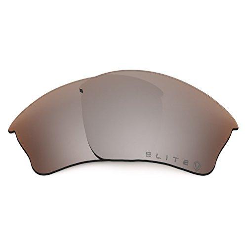Revant Polarized Replacement Lenses for Oakley Half Jacket XLJ Elite Flash Bronze MirrorShield