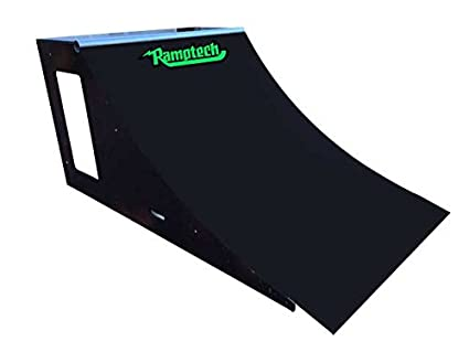 Skate Board Ramp >> Amazon Com Ramptech 3 Tall X 4 Wide Quarterpipe Skateboard Ramp