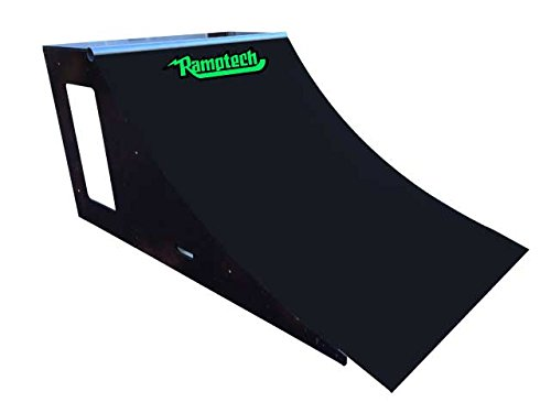 Ramptech 3' Tall x 4' Wide Quarterpipe Skateboard Ramp