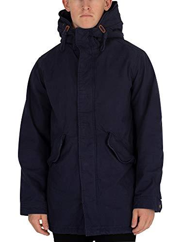 Jack & Jones Men's New Bento Parka Jacket, Blue, X-Large for sale  Delivered anywhere in USA