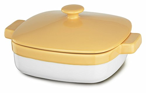KitchenAid KBLR28CRBF Streamline Ceramic 2.8-Quart Casserole Bakeware - Buttercup by KitchenAid