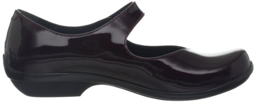 Dansko Womens Opaal Mary Jane Black / Cherry Patent