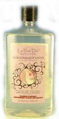 Lovely La Tee Da Effusion And Fragrance Lamp Oil Refills   32 Oz   MONOGRAMMED