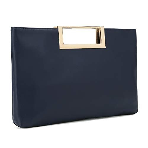 Charming Tailor Fashion PU Leather Handbag Stylish Women Convertible Clutch Purse - Handbag Womens Dress