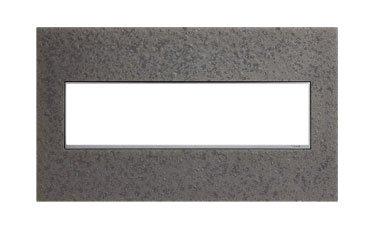Hubbardton Iron - Hubbardton Forge Natural Iron 4-Gang Wall Plate