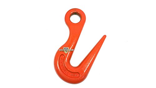 Sorting Hook - Campbell 479-S Drop-Forged Alloy Steel Sorting Hook, Painted Orange, 2 ton Tip and 7-1/2 ton Bottom Working Load Limit
