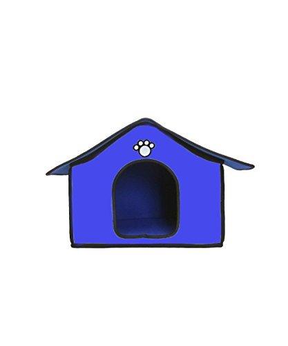 Caseta de fieltro de interior para perros y gatos ...