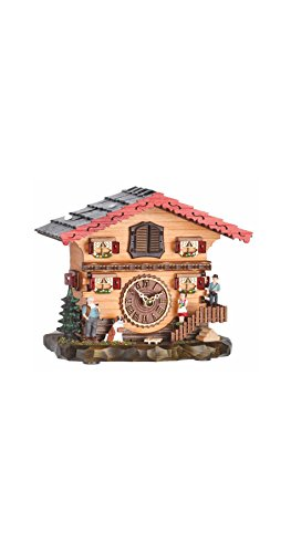 - Trenkle Quartz Cuckoo Clock Swiss House with Music TU 487 QM