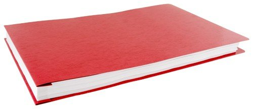 11x17 Executive Red Pressboard Binder, 10 per Package (526362) (Red Binders Executive)