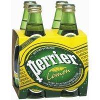 Perrier Lemon Sparkling Water, 11 OZ [Case Count: 6 per case] [Case Contains: 24 Bottles] by Perrier by Perrier