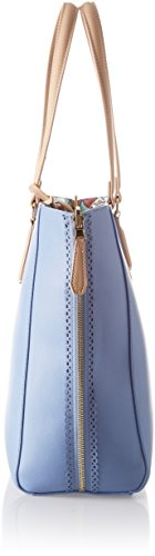 Lumpur Jeans Bags Woman Blue Ecoleather Bag Print Blue light Shoulder Trussardi Shoppers Shopping And Orchid Kuala dpwdFE