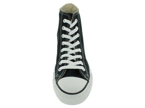 Converse Chuck Taylor All Star Hi, Zapatillas de tela unisex Negra