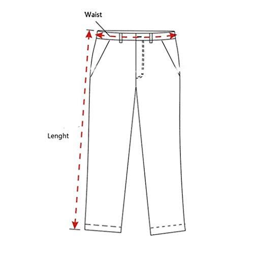 Realdo Clearance Mens Fashion Floral Print Trousers Sweatpants Elastic Waist Creative Comfy Pants(Medium,Red) by Realdo (Image #5)
